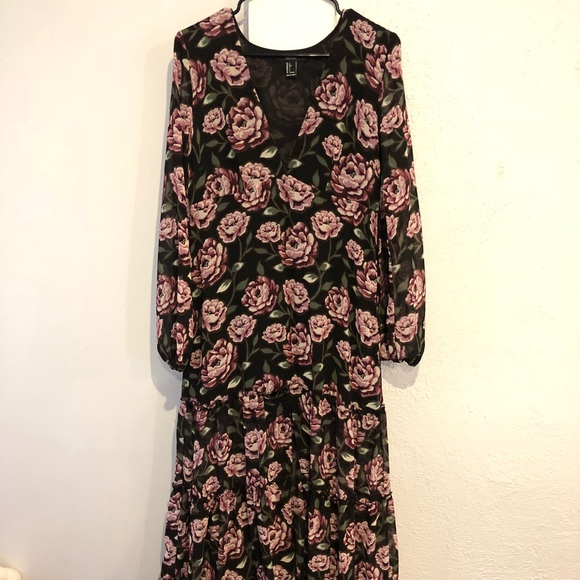 Long Sleeve Dresses Forever 21 Floral One